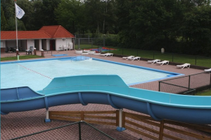 glijbaan zwembaddewiekslag